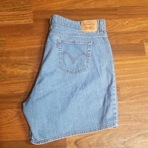 Levi's 550 Relaxed Jean Shorts